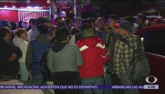 Vecinos de Álvaro Obregón bloquean avenida Tamaulipas