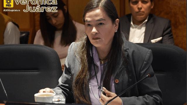 coordinador, PRD, Verónica Juárez, Twitter, @juarezvero, 20 febrero 2019