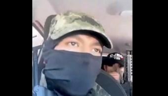 Investigan video con presuntas amenazas de sujetos armados en la GAM