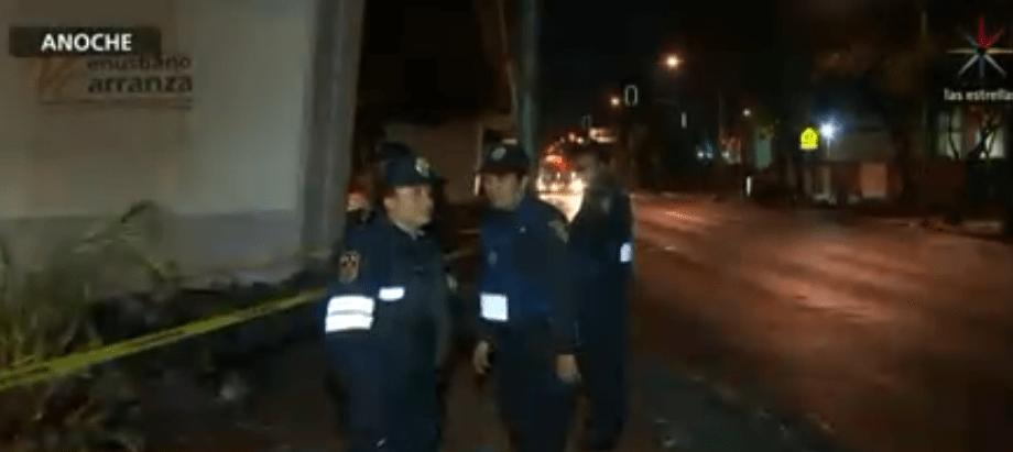 Foto: Policías en la Ciudad de México, 19 de febrero de 2019, México
