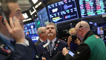 Foto: Sesión en la Bolsa de Nueva York del 17 de enero de 2019