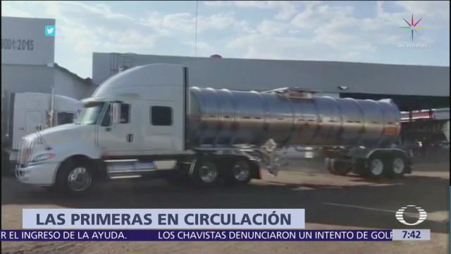 Foto: Ya circulan 50 nuevas pipas para distribuir gasolina en México
