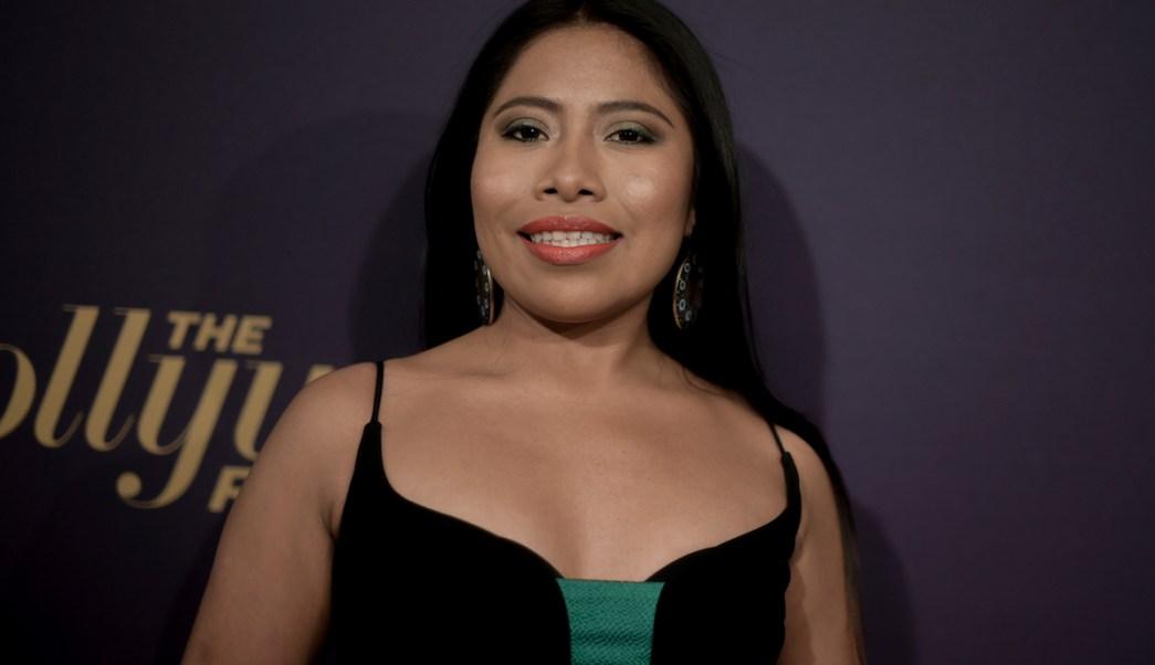 Foto Yalitza Aparicio 9 Febrero 2019