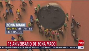 Foto: Zona Maco celebra su 16 aniversario
