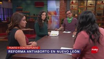 FOTO: Congreso de Nuevo León y su reforma antiaborto, 8 marzo 2019