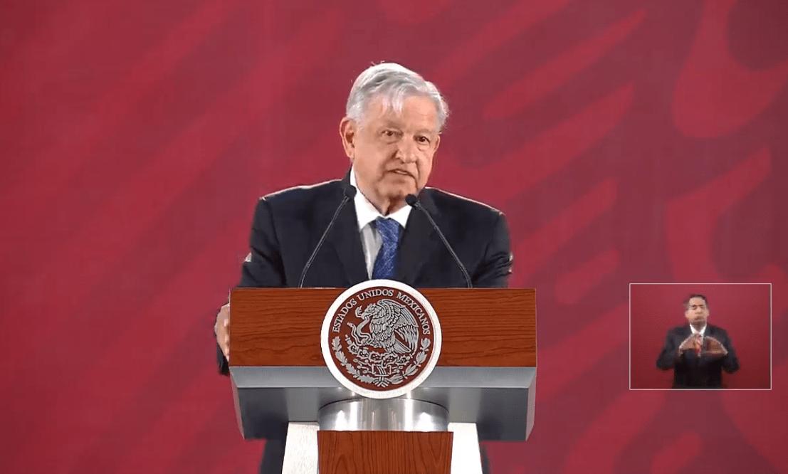 Foto: El presidente de México, Andrés Manuel López Obrador, 19 de marzo de 2019, Ciudad de México, México
