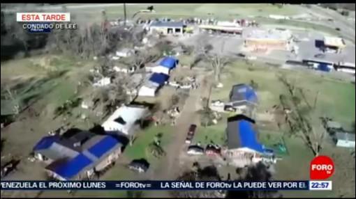 FOTO:22 muertos tras impacto de tornado en Alabama, Estados Unidos, 3 marzo 2019