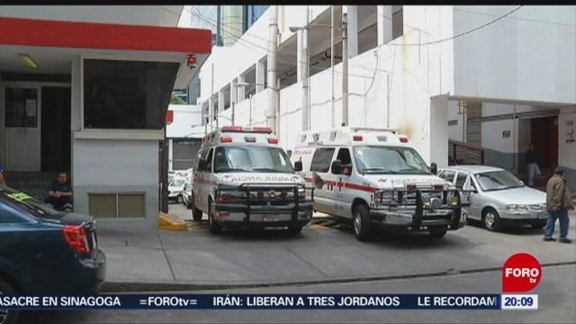 Foto: Ambulancias Atienden Emergencia CDMX 5 de Marzo 2019