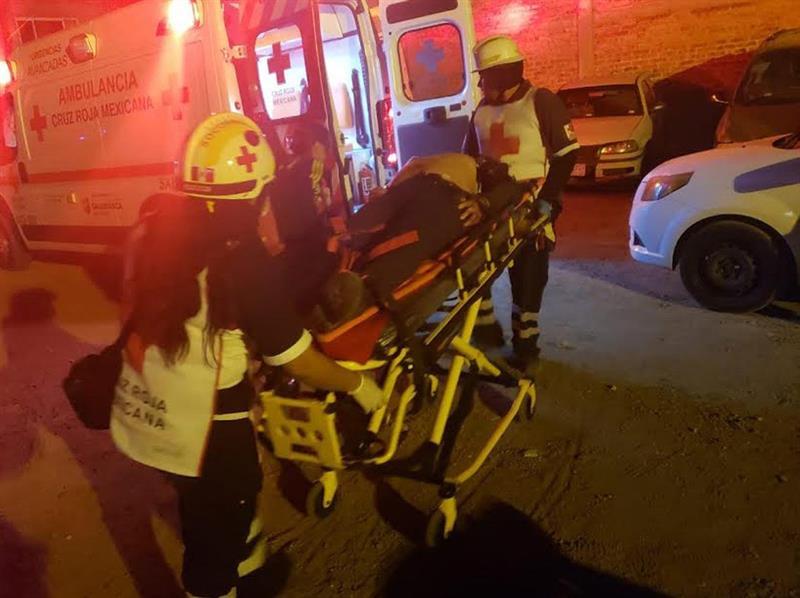 Foto: Al lugar, llegaron elementos del Mando Único Estatal y paramédicos de la Cruz Roja., el 9 de marzo de 2019 (EFE)