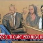 Foto: Abogados Chapo Nuevo Juicio 26 de Marzo 2019