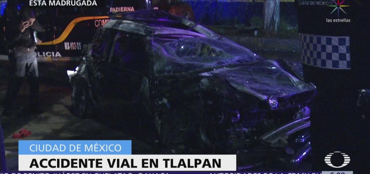 Accidente vial en Tlalpan, CDMX, deja un muerto