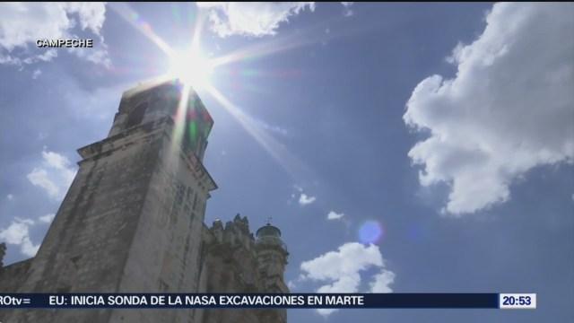 Foto: Altas Temperaturas Clima Campeche 1 de Marzo 2019