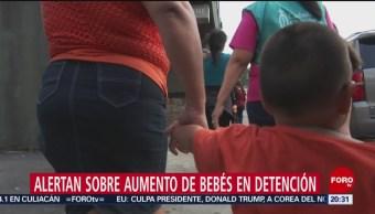 Foto: Bebés Migrantes Detención Niños Albergues Estados Unidos 1 Marzo
