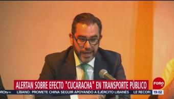 Foto: Efecto Cucaracha Robo Transporte Publico CDMX 4 de Marzo 2019