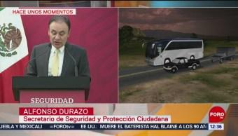 Alfonso Durazo revela detalles del secuestro de migrantes en Tamaulipas