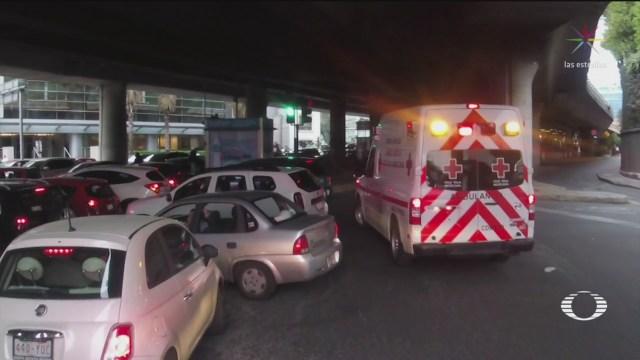 Foto: Ambulancias Llegan Tarde Automovilistas 7 de Marzo 2019