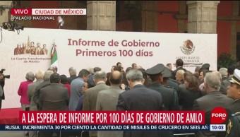 AMLO dará informe sobre cien días de gobierno