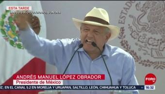 """En San Luis Río Colorado, Sonora, el presidente López Obrador encabeza la presentación de los """"programas de la frontera norte y mejoramiento urbano"""""""