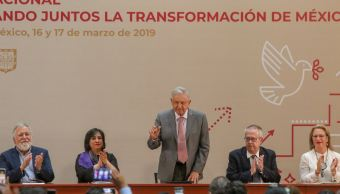 Foto: AMLO cuestionó las reformas estructurales porque eran dictadas desde el extranjero, el 17 de marzo de 2019 (Cuartoscuro)