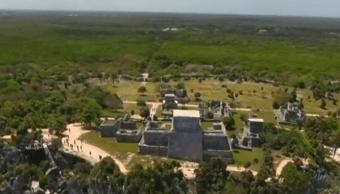 FOTO AMLO niega aumento en costo del Tren Maya, como denuncia IMCO FOROtv marzo 2019 tulum