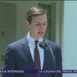 AMLO recibió a Jared Kushner en Palacio Nacional