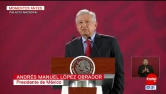 AMLO: Se hace labor de convencimiento para que EU invierta en México