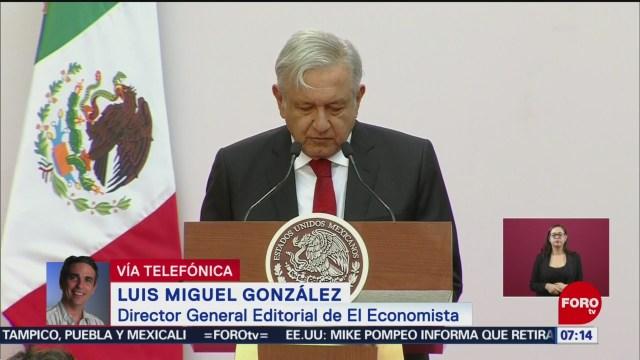 Análisis del informe de 100 días de López Obrador