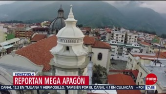 Foto: Apagón en Venezuela, reportan en redes sociales