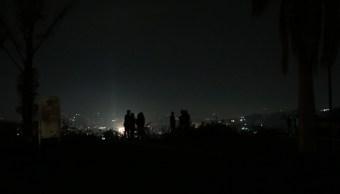 Foto: Vista del apagón en Caracas, Venezuela, 30 marzo 2019