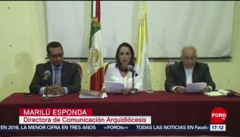 Foto: Arquidiócesis primada de México advierte: cero tolerancia a abusos
