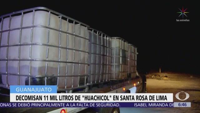 Aseguran 11 mil litros de gasolina robada en Santa Rosa de Lima