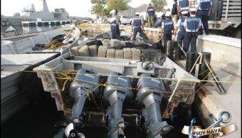 Foto: Aseguran más de seis toneladas de droga en costas de Sonora 8 marzo 2019