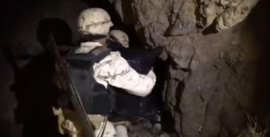 Foto: Aseguran una tonelada de marihuana oculta dentro de cueva 7 marzo 2019