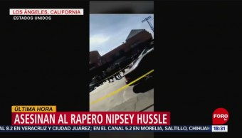 FOTO: Asesinan al rapero Nipsey Hussle en Los Ángeles, 31 Marzo 2019
