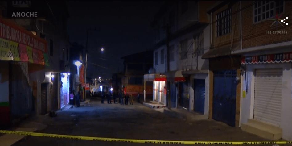 Foto: Zona acordonada por asesinato en la Ciudad de México, 21 de marzo de 2019, México
