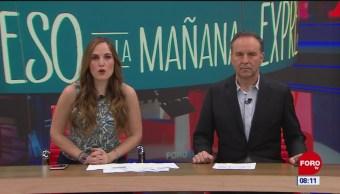 Foto: Así arranca Expreso de la Mañana con Esteban Arce del 24 de marzo del 2019