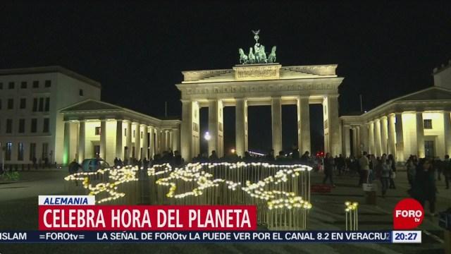 Así celebran la hora del planeta en el mundo