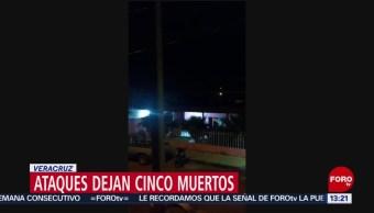 FOTO: Atacan instalaciones de Fuerza Civil en Veracruz, 16 marzo 2019