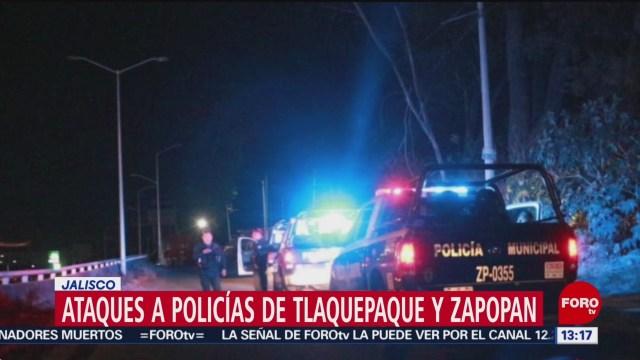 FOTO: Ataques a policías de Tlaquepaque y Zapopan, Jalisco, 31 Marzo 2019