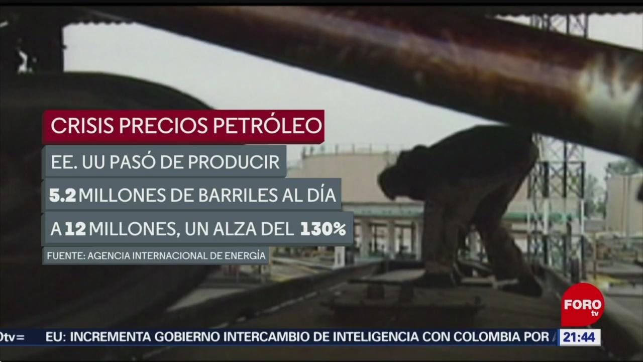 FOTO:Aumento en producción de petróleo ha generado una crisis en los precios, 18 Marzo 2019