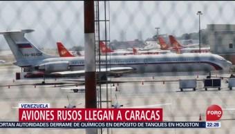 FOTO: Aviones rusos llegan a Caracas, Venezuela, 24 Marzo 2019