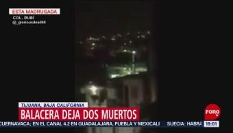 Foto: Balacera Muertos Tijuana Hoy Madrugada 5 de Marzo 2019
