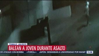 Foto: Balean a joven durante asalto en Tonalá, Jalisco