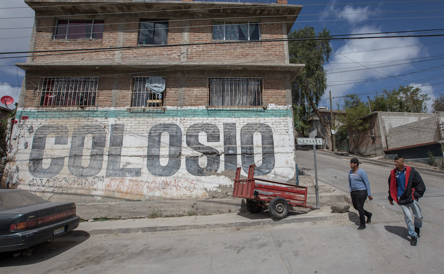 Foto monumento memoria Colosio Tijuana 6 marzo 2019