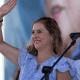 FOTO Beatriz Gutiérrez niega haber dicho que españoles son odiados en México AP
