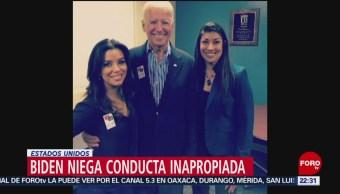 FOTO: Biden niega conducta inapropiada con una mujer, 31 Marzo 2019