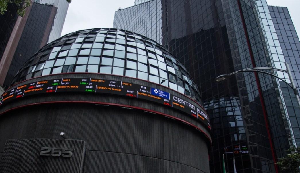 Foto: Fachada de la Bolsa Mexicana de Valores (BMV) en la Ciudad de México, México, marzo 4 de 2019 (Cuartoscuro)