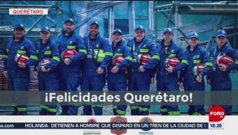 FOTO: Brigadistas queretanos ganan Encuentro Mundial de Rescate Técnico, 18 marzo 2019