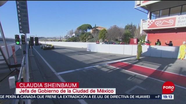 FOTO: Buscan financiamiento para Fórmula 1 en Ciudad de México, 2 marzo 2019