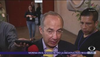 Foto: Calderón responde a López Obrador sobre isla en Mazatlán